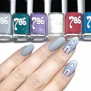 Top Coat Matte, nail art, 786 cosmetics