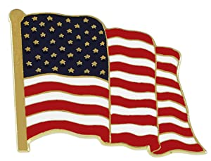 Amazon.com  Forge American Flag Lapel Pin Proudly Made in USA (1 ... 4a9a9643d1