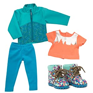 Canyon Falls, Outfit for 18