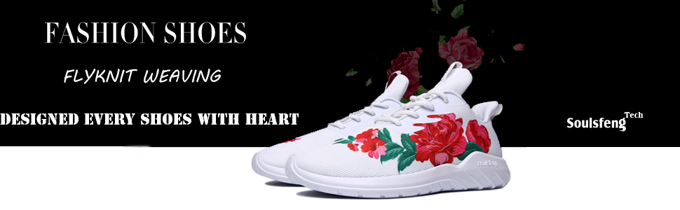 5452cd556d656 Soulsfeng Men's Women's Fashion Sport Shoes Lace Up Cushioning ...