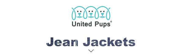 UNITED PUPS JEAN JACKETS