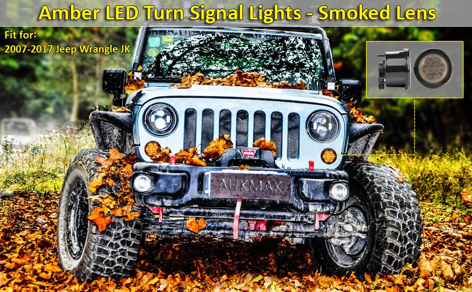 Aukmak Amber Led Turn Signal Lights