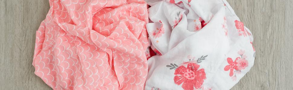 Amazon.com: Graced Soft Luxuries - Manta de muselina para ...