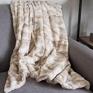 Super Soft Home Throw Blanket by Graced Soft Luxuries