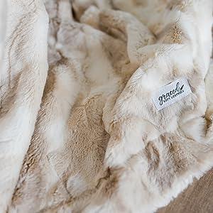 Throw Blanket Soft Blanket faux fur blanket throw blanket for couch blankets and throws throw throws
