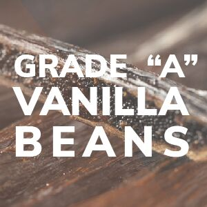 Grade A Vanilla Beans All Natural Recipe Ingredient Antioxidant Superfood Powder Wild Food Healthy
