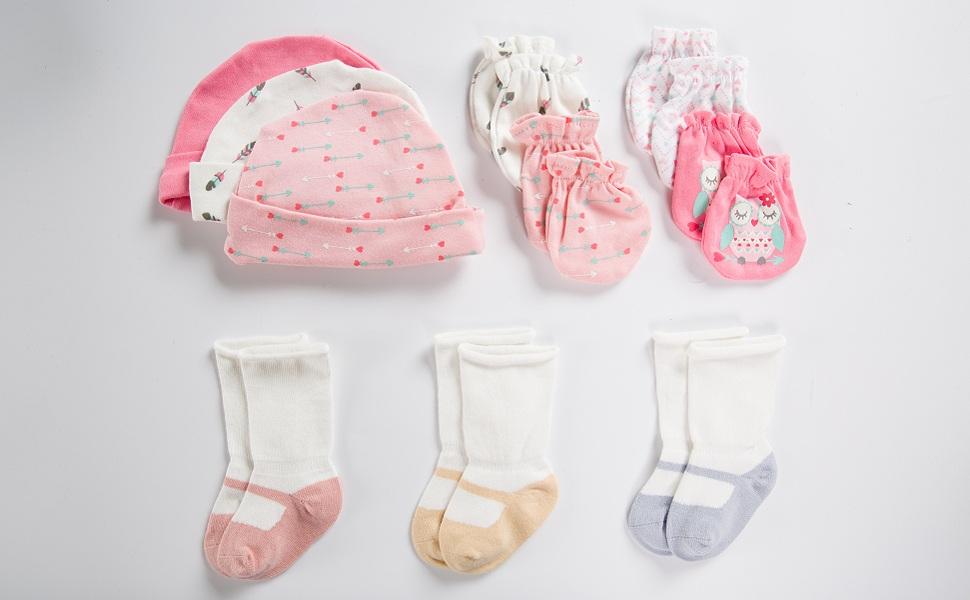 Amazon.com: ZAPLES - Juego de 3 calcetines unisex para bebé ...