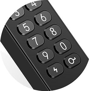 Crystal digital keypad