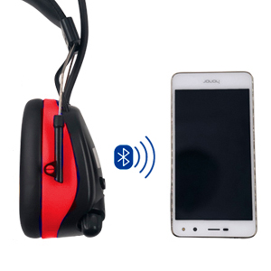 safety earmuff with bluetooth