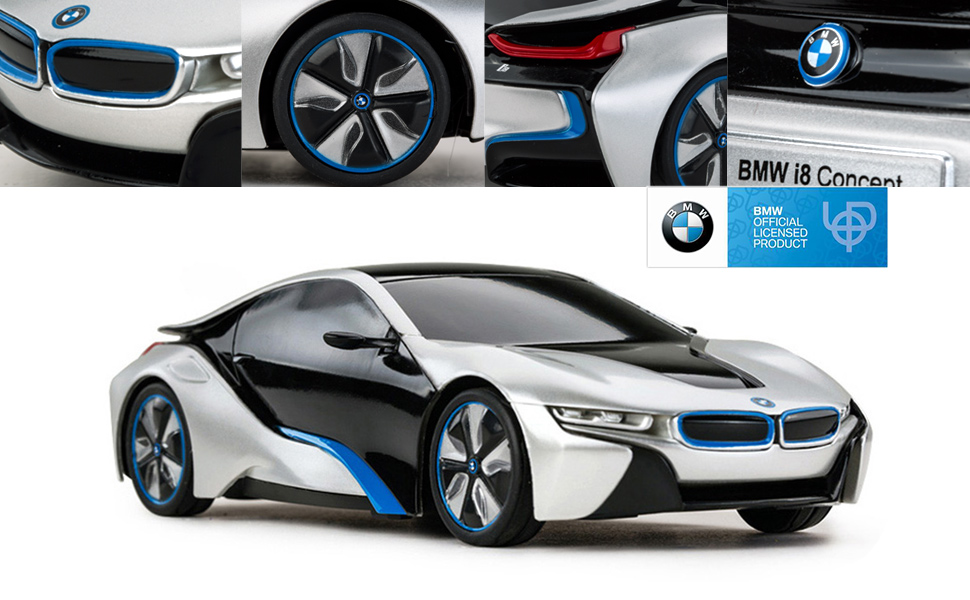 Amazon Com Rastar Bmw I8 Remote Control Car 1 24 Bmw Rc Car Bmw