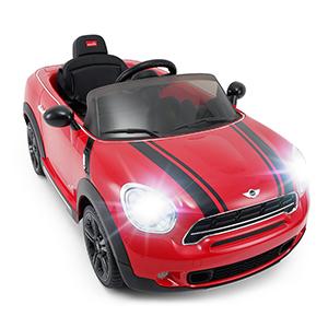 Amazon Com Rastar Mini Cooper Ride On 12v Kids Electric Ride On