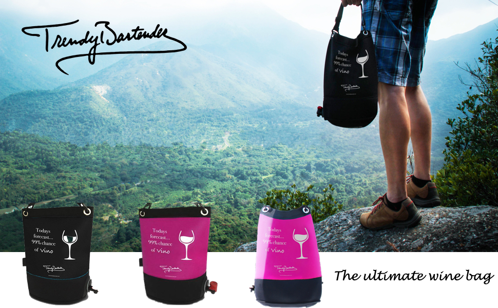 Amazon.com: Bolsa de vino al aire libre – Dispensador de ...