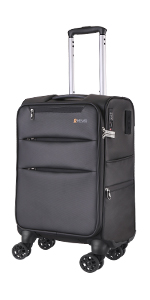 Amazon.com: REYLEO Hardside Luggage 21 Inch Carry On Luggage ...