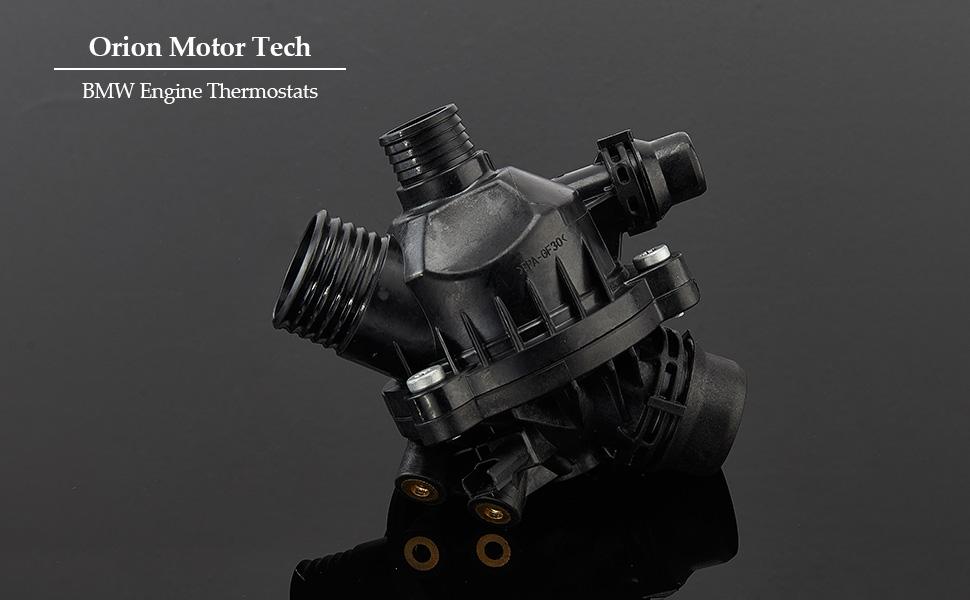 FKYNB Motork/ühlmittel-Thermostat Geh/äuse for BMW X5 X6 545i 550i 650i 750i Thermostatgeh/äuse-Abdeckung