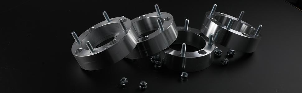 WHEELTECH 4X 2 4x156mm to 4x156mm 12x1.5 Wheel spacers fit for 2015-2017 Polaris RZR 900 2014-2018 Polaris RZR XP 1000