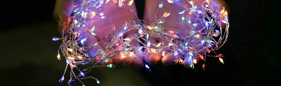 ECOWHO fairy string lights
