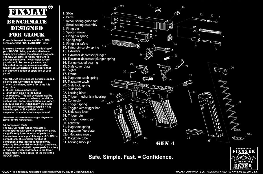 Glock Parts List Diagram Product Wiring Diagrams