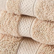 oatmeal, towel, cotton