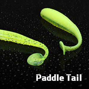 paddle tail worms