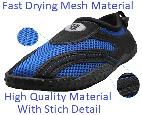 0172353b1036 Greg Michaels Water Shoes are made of high quality material for comfortable  feel with great stich detail and high quality mesh for fast drying.