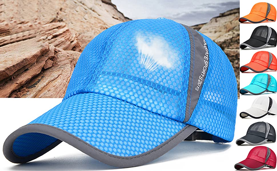 HK Bicycle Cycling Cap Hat Outdoor Sports Running Sunhat Suncaps One Size Healt