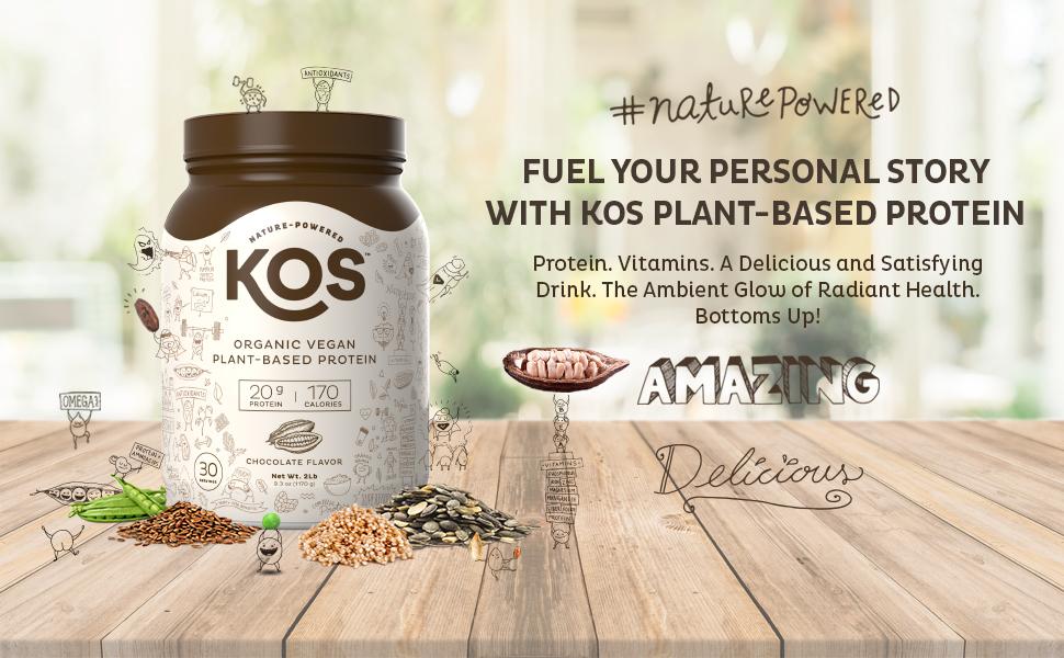 KOS Vegan Plant Based Protein