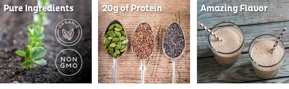 Pure Ingredients 20g of Protein Amazing Flavor