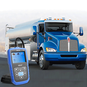 NEXAS Heavy Duty Truck Scanner NL102 OBD/EOBD+HDOBD Diagnostic Scanner Scan  Tools Engine ABS Transmission Check Trucks & Cars 2 in 1 Codes Reader