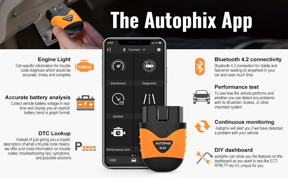 Autophix obd2 scanner