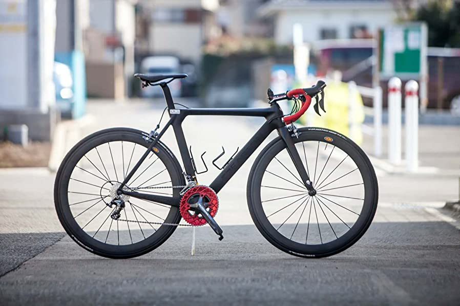Amazon.com : ICAN Full Carbon Aero Road Bicycle Frame with Fork BB86 ...