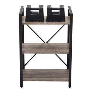 bookshelf bookcase small 3 tier rustic
