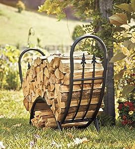 Amazon.com: Plow & Hearth Curved Wood Decorative Finials