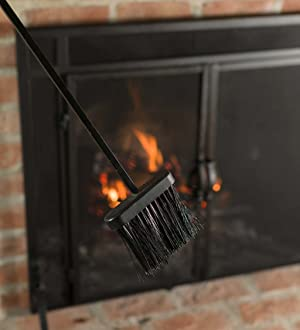 Amazon Com Tall 5 Piece Hand Forged Iron Fireplace Tool Set With