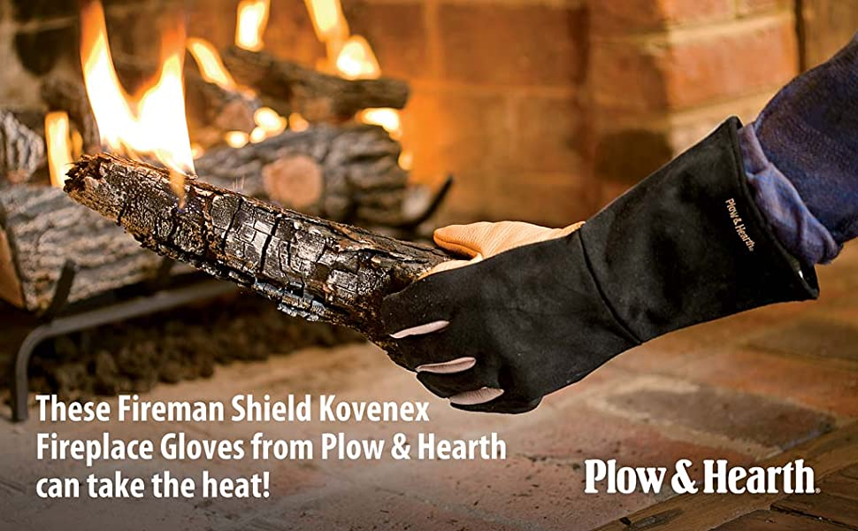Amazon.com: Fireplace Fire Resistant Gloves: Home & Kitchen