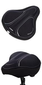 DAWAY C3 Memory Foam Bike Seat Cover