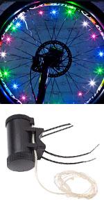DAWAY A01 Bike Wheel Lights