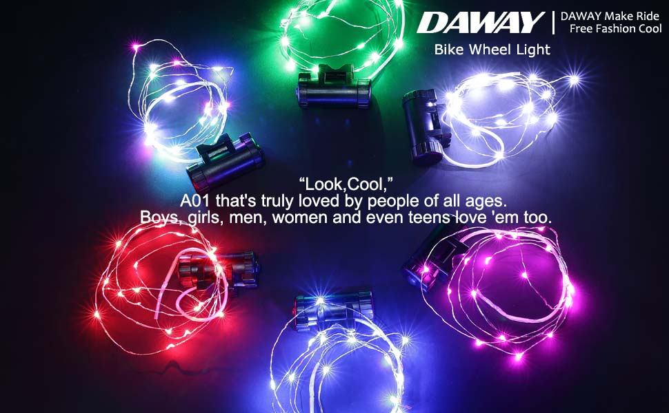 Bright Bike Tire Lights - Great Birthday Gifts & Popular Christmas Presents