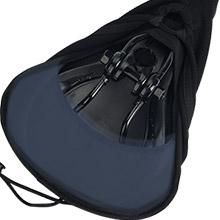 Non-slip design of DAWAY C88 bike saddle cover