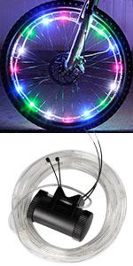 DAWAY A01+ Bicycle Spoke Light