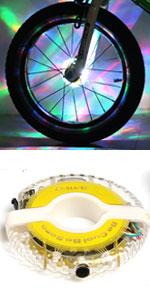 DAWAY A16 Cool Bicycle Tire Lights