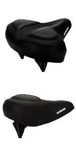 DAWAY C40 Oversized Bike Seat Comfortable