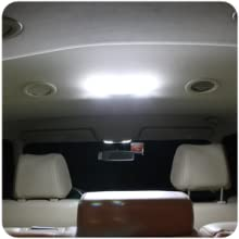 LEDpartsNow Interior LED Lights Replacement for 2004-2008 Ford F-150 F150 Accessories Package Kit (5 Bulbs), WHITE