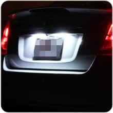 number license plate tag light