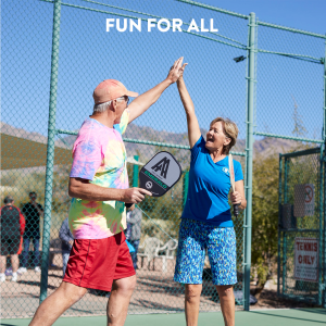 Amazon.com: Amazin Aces Pickleball conjunto de paletas de ...