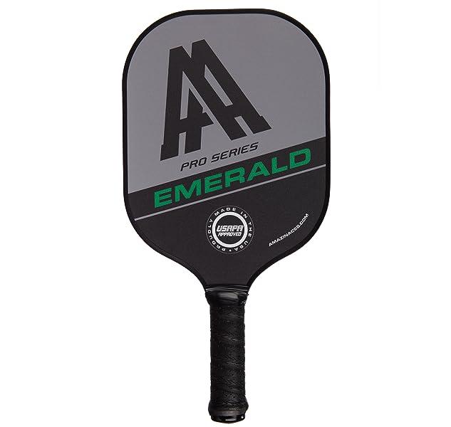 Amazon.com: Amazin Ases esmeralda Pickleball Paddle (Pro ...