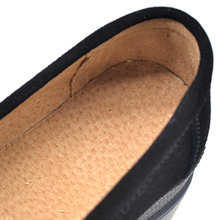 women suede loafers