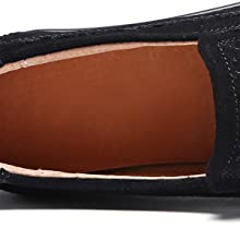 66ec3009c0d casual platform. light weight. Comfort slip on moc round toe Elastic band  for easy pull on and off