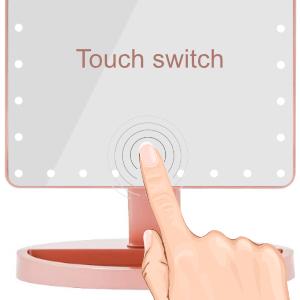 screen touch makeup mirror