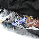 sports bag with wet pocket