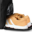 travel bag with shoes compartment